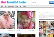 Website for 100 Most Beautiful Babies