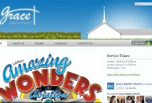 Website for Grace Baptist Church