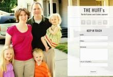Personal Landing Page Personal Landing Page for My Family