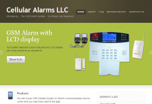 Website for Cellular Alarms